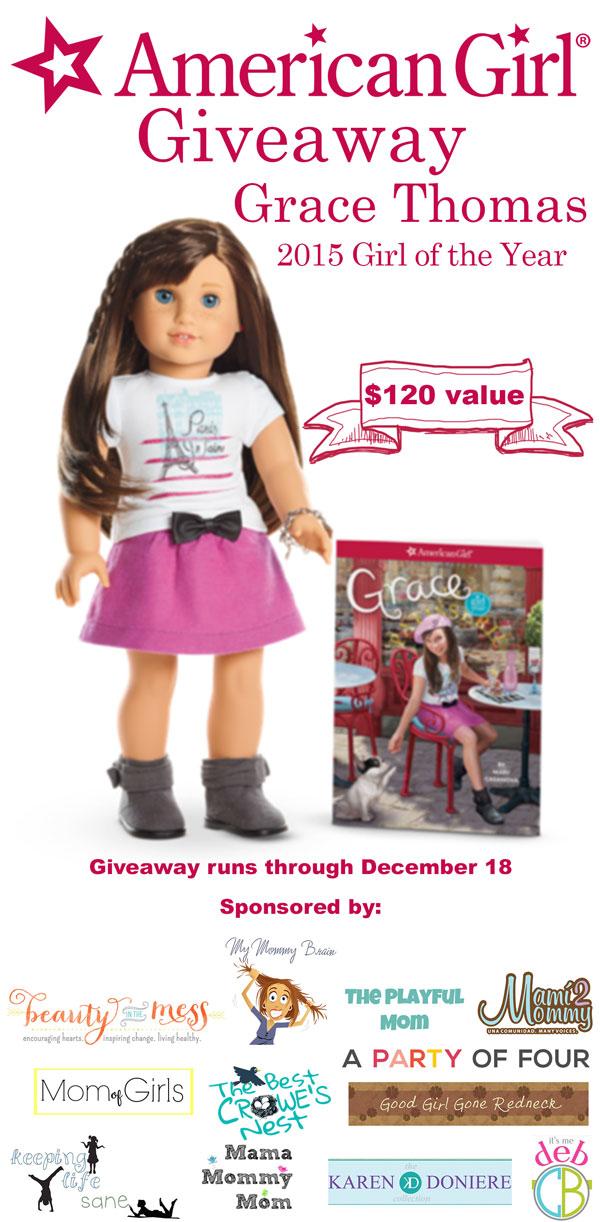 American Girl Giveaway Grace Thomas 2015