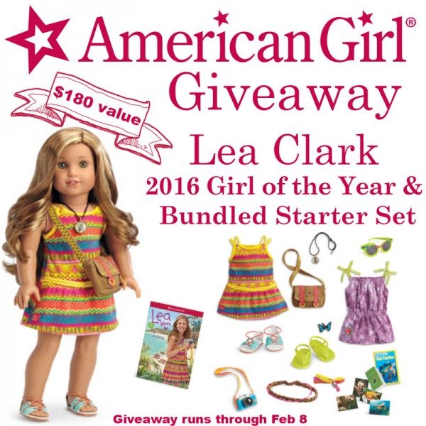 2016 American Girl of the Year Doll Giveaway
