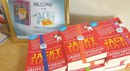 jacky haha book club for kids