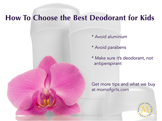 best deodorant for kids all natural