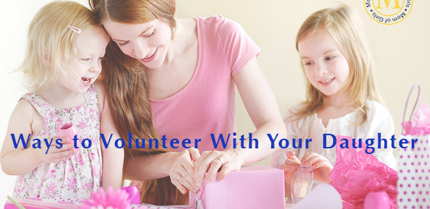 ways to volunteer with kids