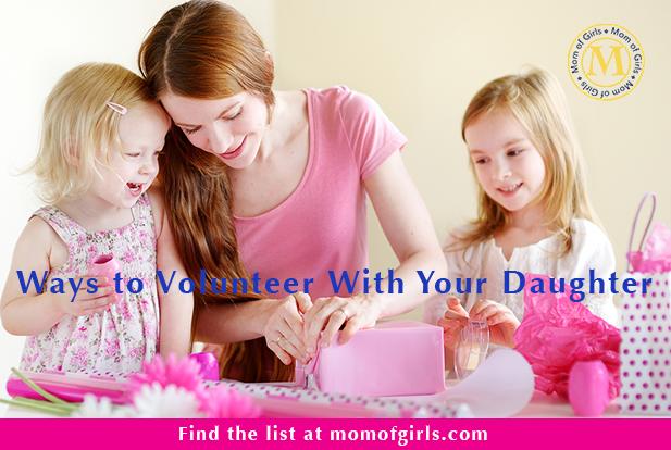 ways to volunteer with kids