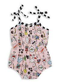 Fendi swimsuit for girls