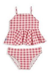 red white tankini for girls two piece