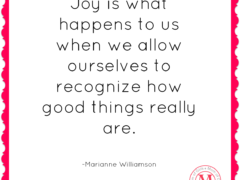 joys what happens marianne williamson