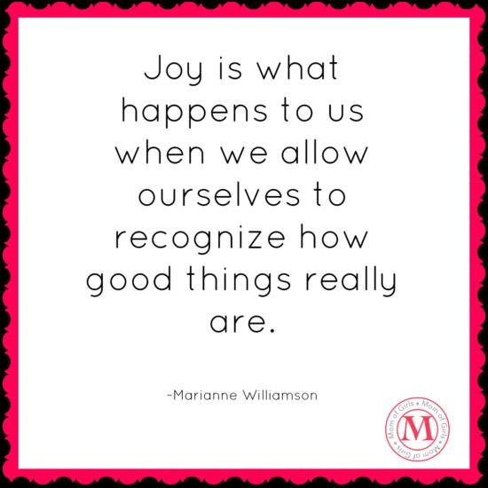 joys what happens marianne williamson