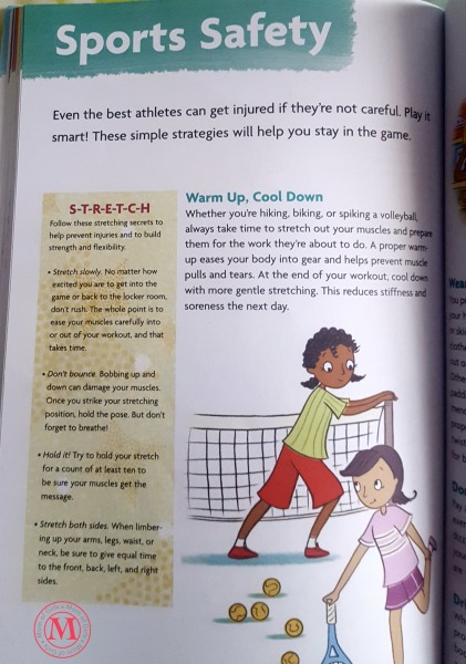 sport safety tips for girls tween book american girl