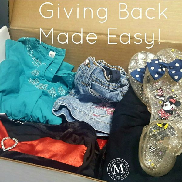 Giving Back Made Easy for families and kids