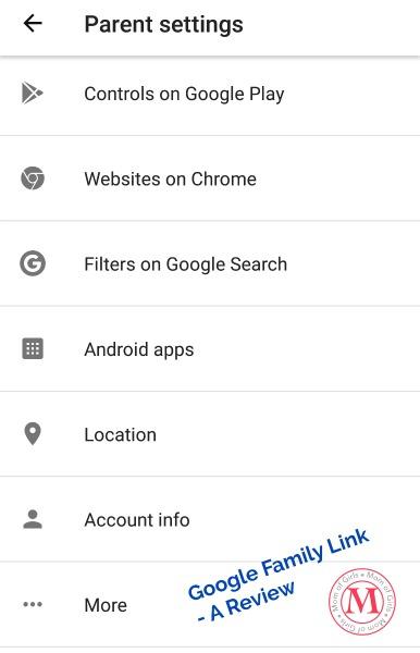 GoogleFamilyLinkForAndroidMonitoring