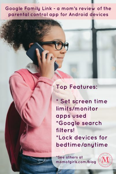 Google Family Link parental control app for Android- mom review