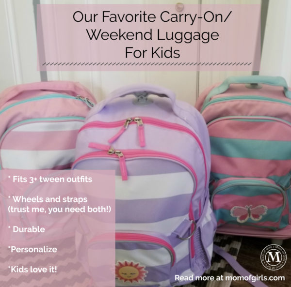 best carryon luggage for kids elementary age and tweens