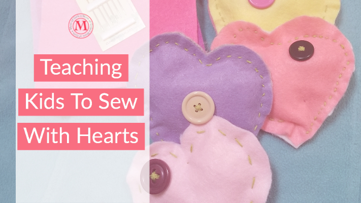 teaching kids to sew - a life skill