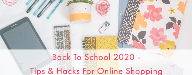 Tips for online back to school shopping for homeschool, virtual and remote learning